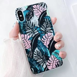 Accessories - NEW iPhone 6+/6s+ Tropical Floral Clear Soft Case